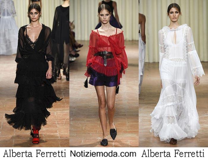 Alberta Ferretti Primavera Estate 2017 Sfilata Moda Donna