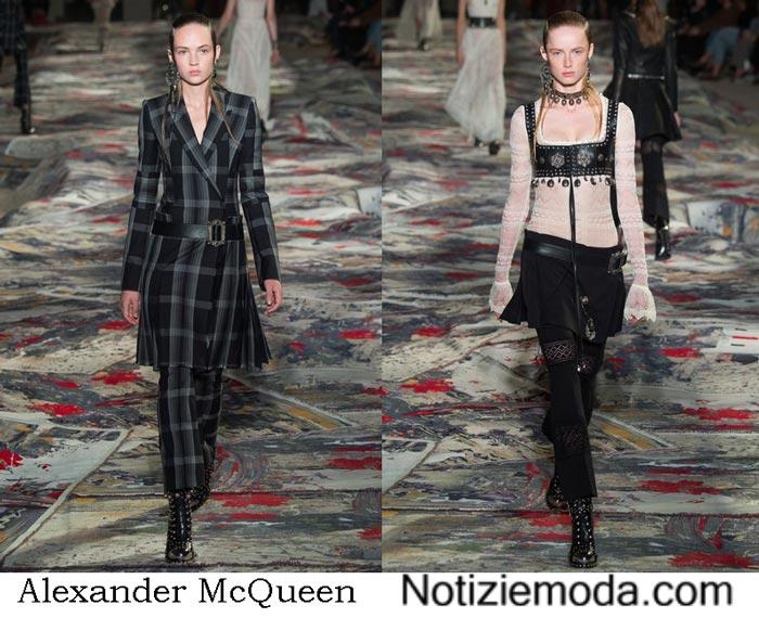 Abbigliamento Alexander McQueen Primavera Estate 2017