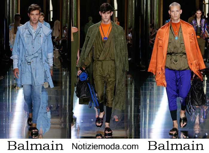 Abbigliamento Balmain Primavera Estate 2017