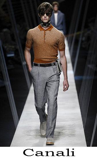 Abbigliamento Canali Primavera Estate Uomo