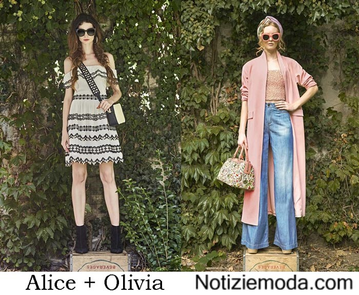 Accessori Alice + Olivia Primavera Estate 2017