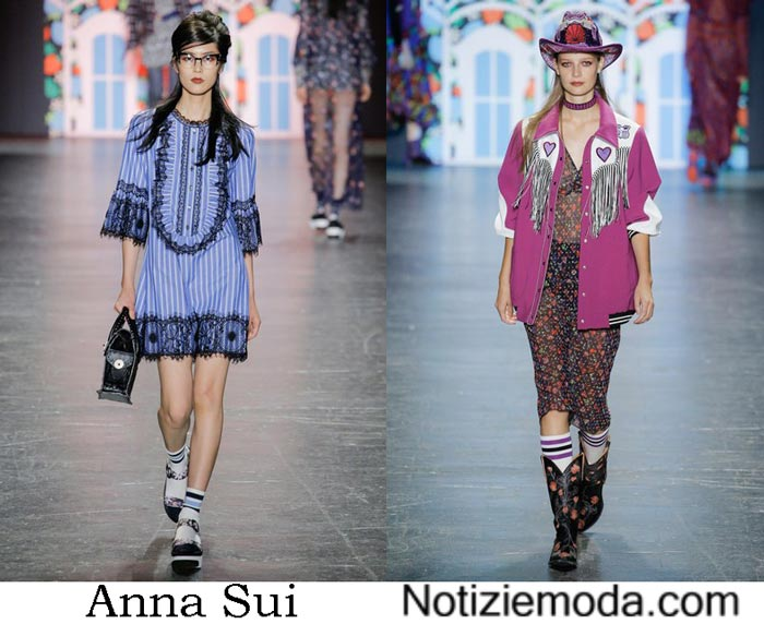 Accessori Anna Sui Primavera Estate 2017