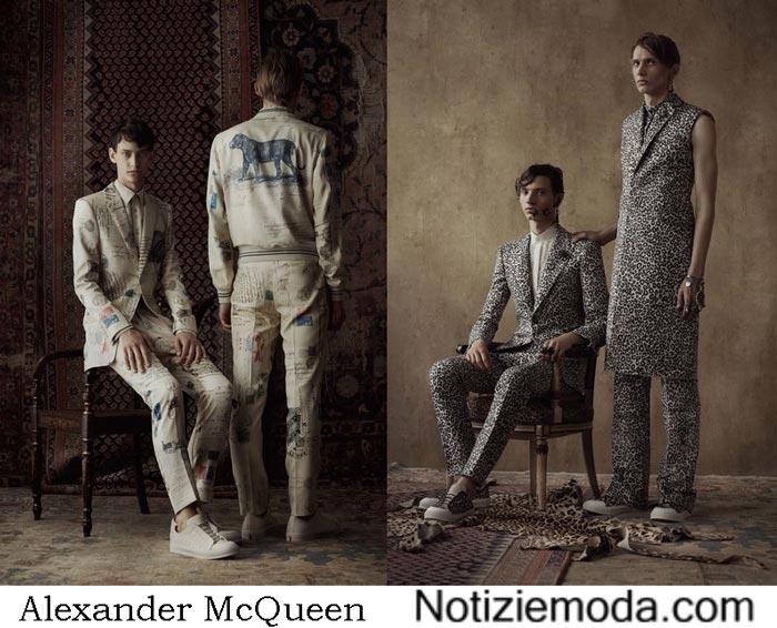 Alexander McQueen Primavera Estate 2017 Sfilata Moda Uomo