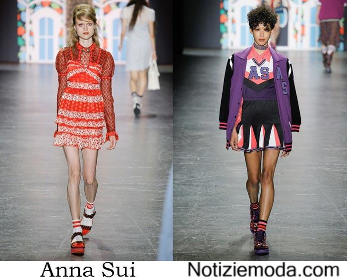 Anna Sui Primavera Estate 2017 Sfilata Moda Donna