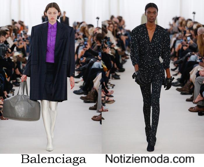 Balenciaga Primavera Estate 2017 Sfilata Moda Donna