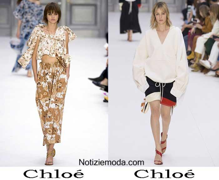 Chloé Primavera Estate 2017 Sfilata Moda Donna