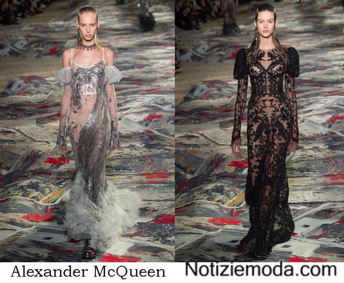 Collezione Alexander McQueen Primavera Estate 2017
