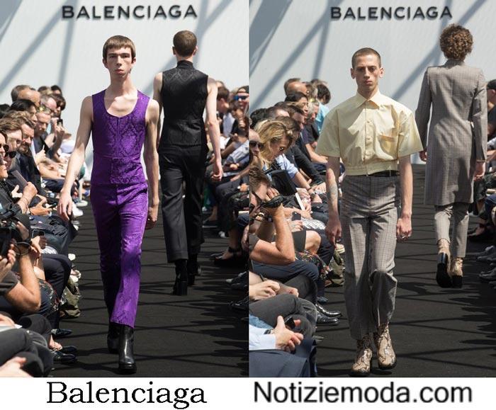 Collezione Balenciaga Primavera Estate 2017