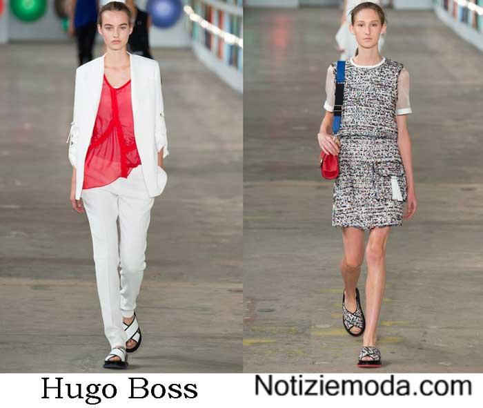 Collezione Hugo Boss Primavera Estate 2017
