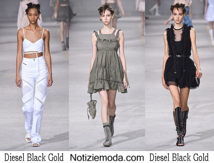 Diesel Black Gold Primavera Estate 2017 Sfilata Moda Donna