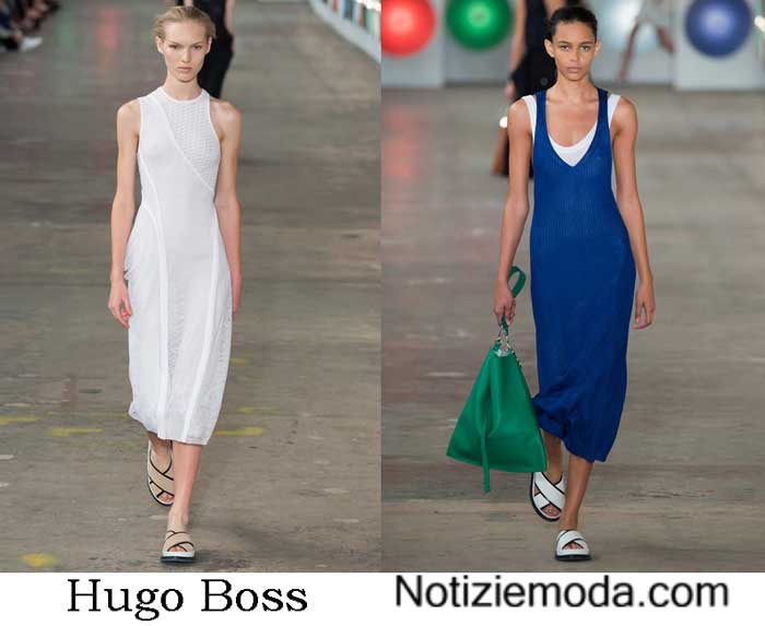 Hugo Boss Primavera Estate 2017 Sfilata Moda Donna
