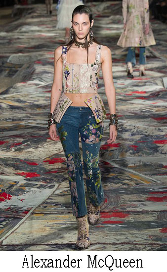 Jeans Alexander McQueen Primavera Estate 2017
