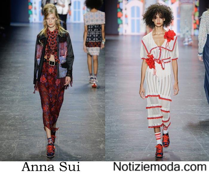 Style Anna Sui Primavera Estate 2017