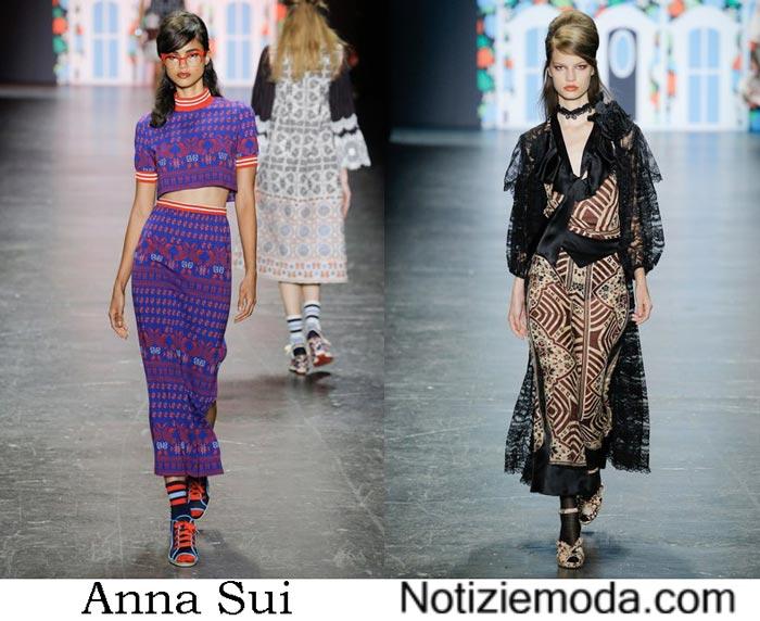 Vestiti Anna Sui Primavera Estate 2017