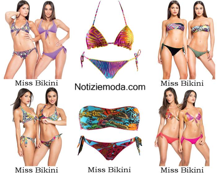 Collezione Costumi Bikini Miss Bikini Estate 2017