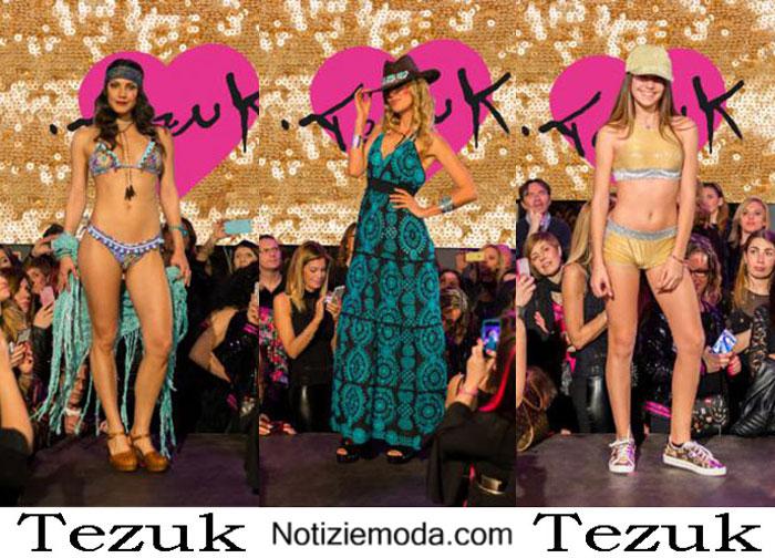 Tezuk Estate 2017 Sfilata Moda Mare Donna