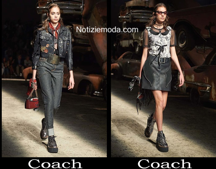 Accessori Coach Primavera Estate