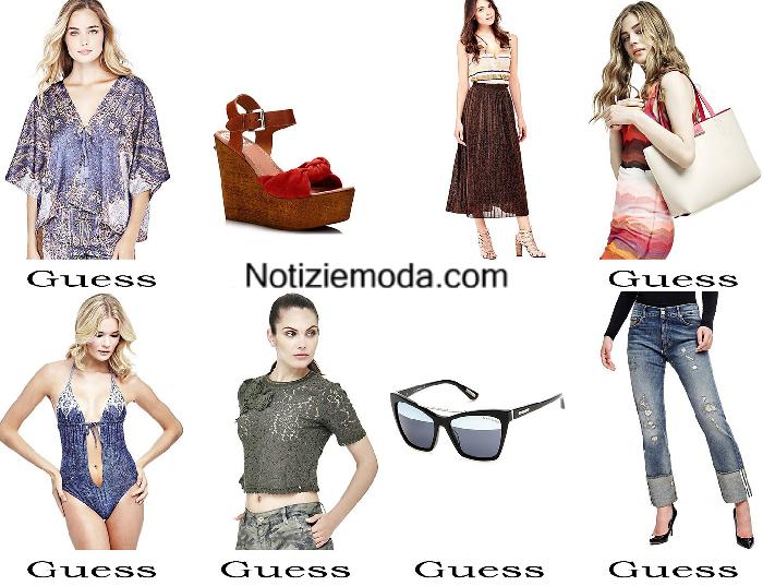 Outfits Guess estate 2017 abbigliamento moda donna