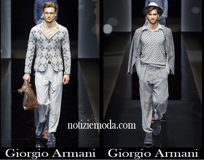 Abbigliamento Giorgio Armani Primavera Estate Uomo