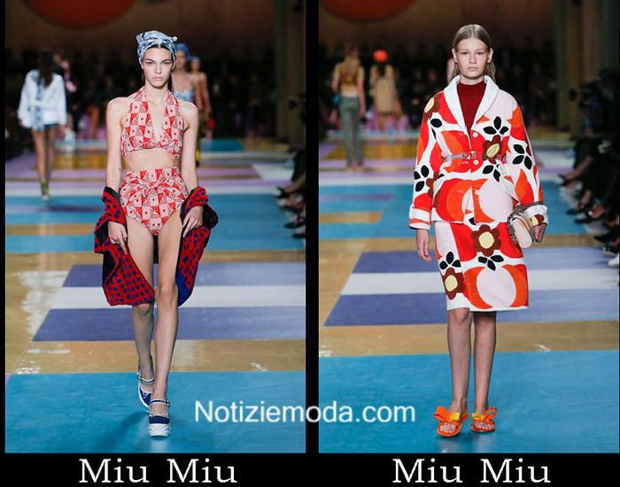detailed look ddf16 273cf Abbigliamento Miu Miu primavera estate 2017 catalogo