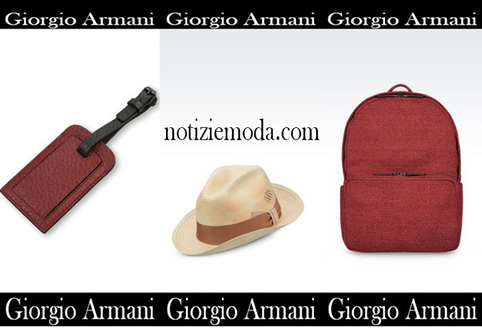Accessori Giorgio Armani Estate Saldi Uomo