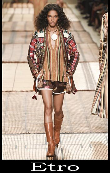 Moda Etro Primavera Estate Donna Look 1