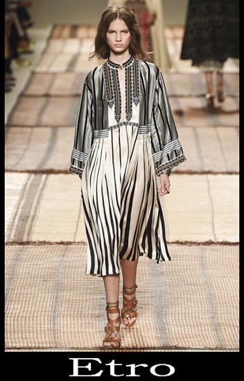 Moda Etro Primavera Estate Donna Look 2