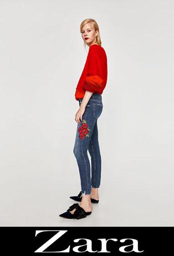 Jeans Ricamati Zara Autunno Inverno 2