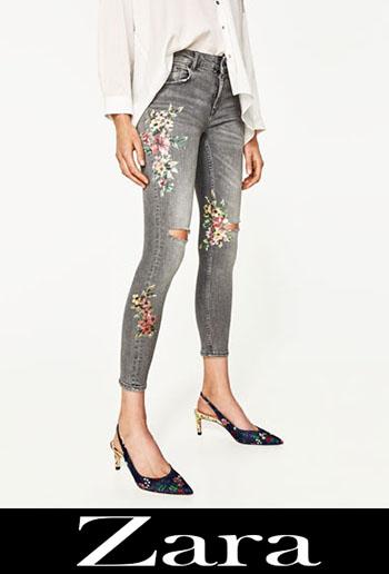 Jeans Ricamati Zara Autunno Inverno 3