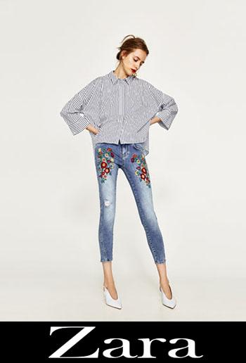Jeans Ricamati Zara Autunno Inverno 4