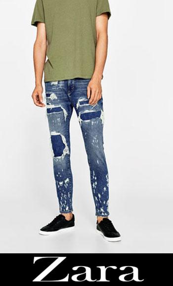 Jeans Ricamati Zara Autunno Inverno Uomo 1