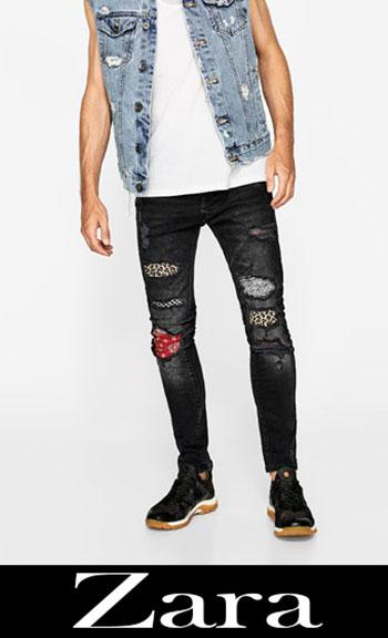 Jeans Ricamati Zara Autunno Inverno Uomo 2
