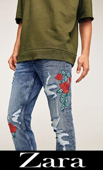 Jeans Ricamati Zara Autunno Inverno Uomo 3