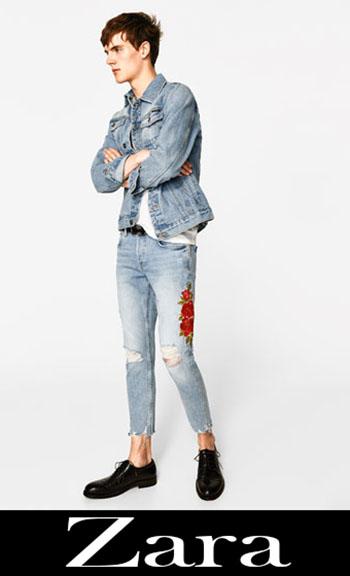 Jeans Ricamati Zara Autunno Inverno Uomo 4