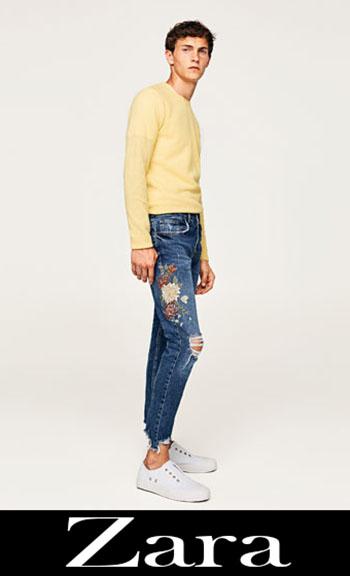 Jeans Ricamati Zara Autunno Inverno Uomo 8