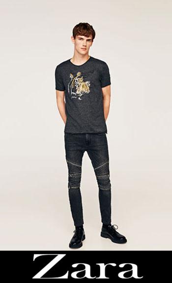 Jeans Ricamati Zara Autunno Inverno Uomo 9