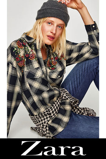 Moda Zara 2017 2018 Autunno Inverno Look 12