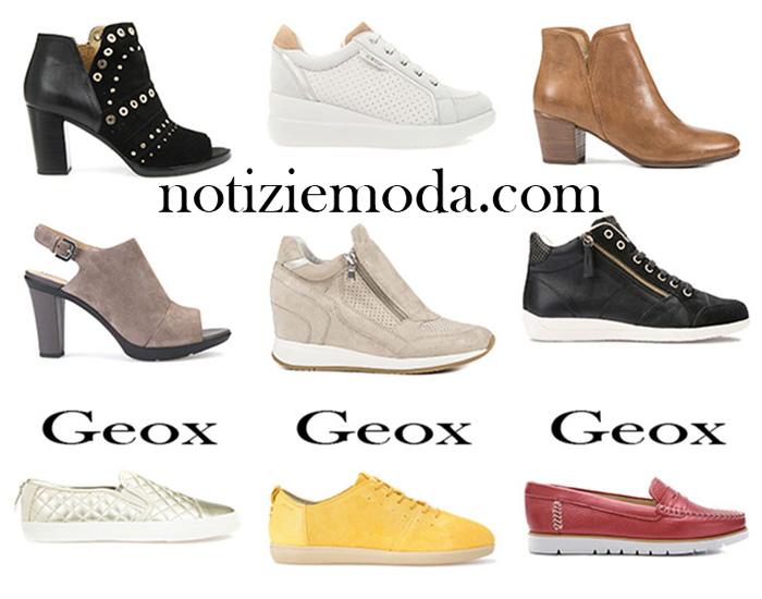 Saldi scarpe Geox estate 2017 calzature donna aefce975893