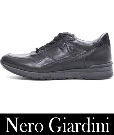 Sneakers Nero Giardini Autunno Inverno Uomo 3
