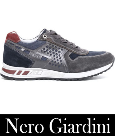 Sneakers Nero Giardini Autunno Inverno Uomo 7
