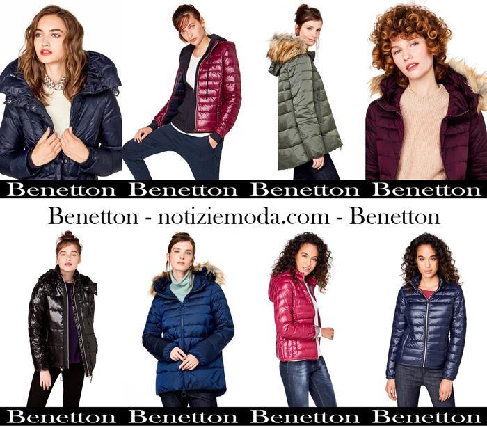 new product b7cb3 0ca75 Piumini Benetton autunno inverno 2017 2018 nuovi arrivi