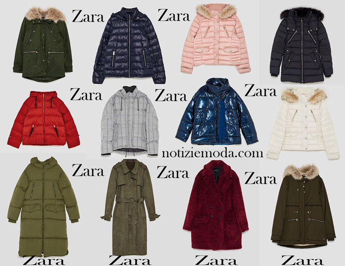 Piumini Zara Autunno Inverno 2017 2018
