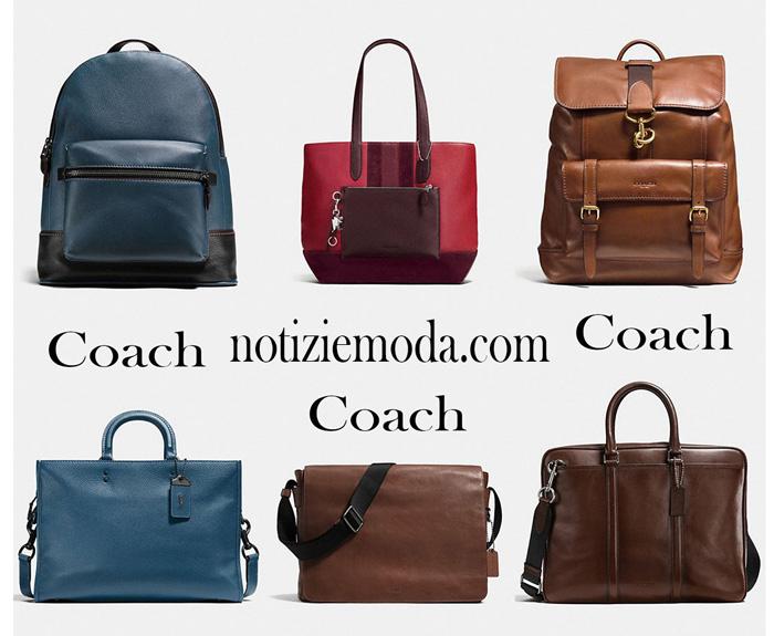 Accessori Coach uomo borse 2017 2018