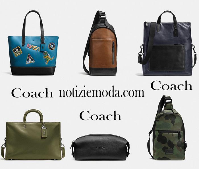 Notizie moda Coach uomo su borse Coach