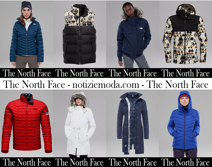 Piumini The North Face Autunno Inverno Moda Donna