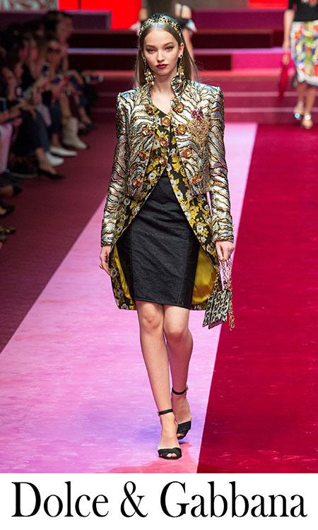 Abbigliamento Dolce Gabbana Primavera Estate 2018 Donna