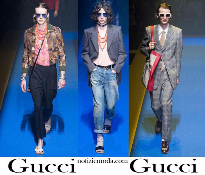 94bf0b3bef Abbigliamento Gucci Primavera Estate 2018 Nuovi Arrivi Uomo