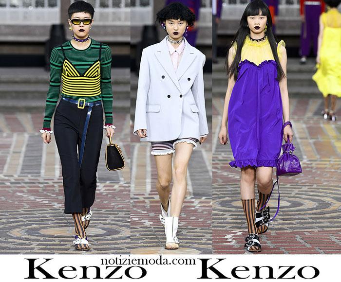 Abbigliamento Kenzo Primavera Estate Style Donna