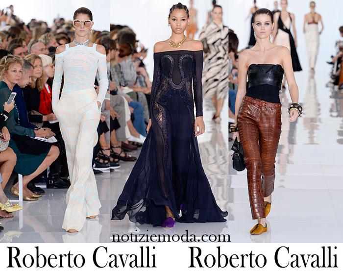 Abbigliamento Roberto Cavalli Primavera Estate Donna