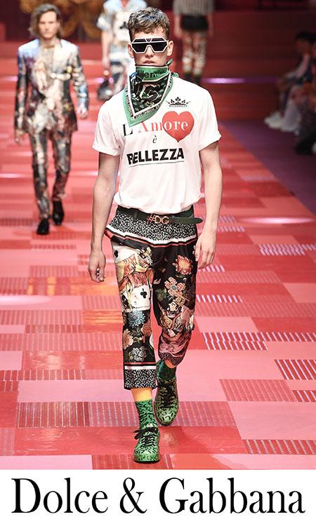 Collezione Dolce Gabbana 2018 Notizie Moda Uomo
